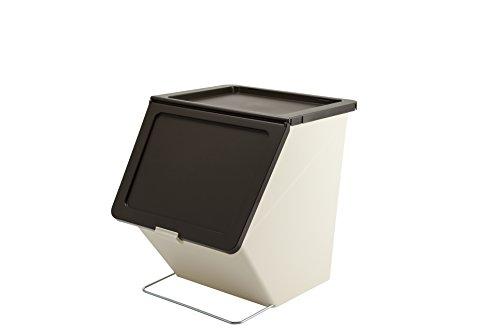 「スタックストー」ゴミ箱pelicangarbee(ペリカンガービー)ブラウン38L