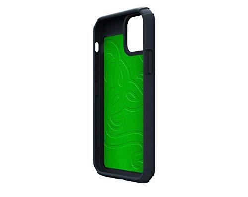 Razer Arctech Pro für Apple iPhone 12 + Pro (6,1'') - Schutzhülle mit Thermaphene Perfürmance Technologie, zertifizierter Schutz bei Stürzen, verbesserte Smartphone Kühlung | Schwarz