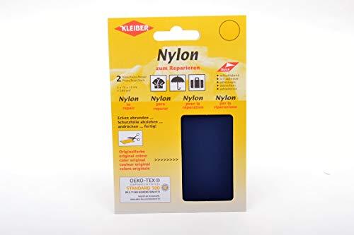 Kleiber 43035 Nylon-Flicken, 12 x 10 cm, dunkelblau 2er--Set