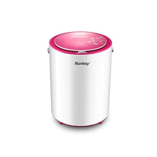 GUORHGJ Wäschetrockner, Smart Home Mute Mini Triple UV Desinfektion, Edelstahl, 520W, Rose Red Black (Farbe : Rose red 14L)