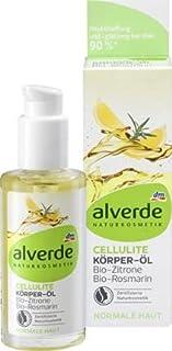 Alverde Cellulite Body Oil Bio-Lemon Bio-Rosemary 100 ml / 3.4 fl oz