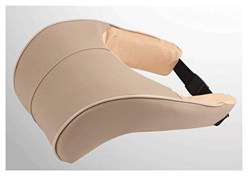 QSWL Coche Almohada Almohadilla Apoyo para El Cuello del Asiento del Automóvil Espuma Memoria Almohadilla Apoyo para Cabeza Cojín para El Reposacabezas Conducción (Color : B, Size : 28X26X18X8CM)