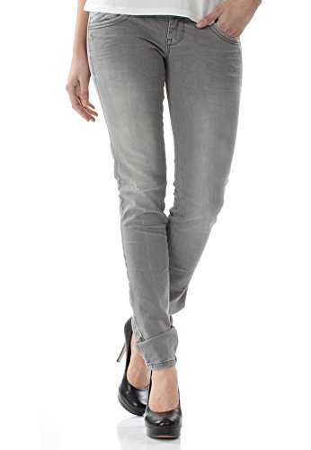 LTB Jeans Damen Molly Dia Wash Grau, Hosengröße:32/34