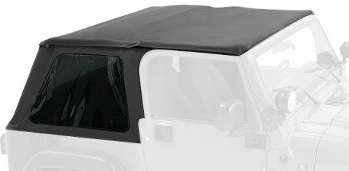 Pavement Ends by Bestop 56840-15 Black Denim Frameless Sprint Top for 1997-2006 Jeep Wrangler