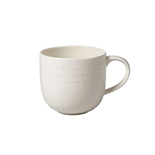 like. by Villeroy und Boch it's my moment Tasse, 500 ml, Premium Porzellan, Weiß