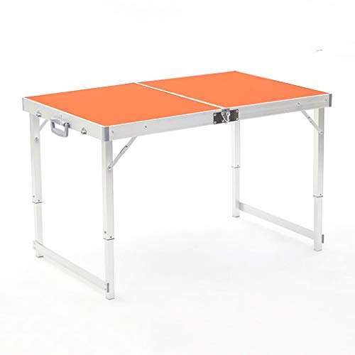AFEO Lightweight Portable Aluminum Camping Table Folding table Dining tables Beach patio Garden table Height-adjustable Folding TV Tray Table Snack table Outdoor set table stool