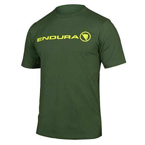 Endura One Clan Light Short Sleeve T-Shirt Medium Forest Green