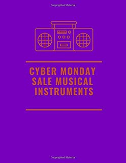 cyber monday sale musical instruments: Blank Sheet Music Composition and Notation Notebook /Staff Paper/Music Composing / ... for beginner adults/piano books for adults  (