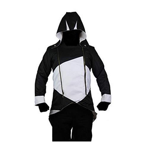 HOOMOLO Assassin's Creed Cosplay Anime Classico Pullover con Cappuccio Personalizzate Popolare Allentato Lungo Superiori