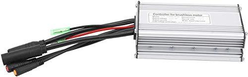 LiuliuBull Z Controlador de Motor eléctrico 9 Tubo 36 / 48V KT  22A Contacto Impermeable con Cable de luz Equipo de Controlador de rectangula