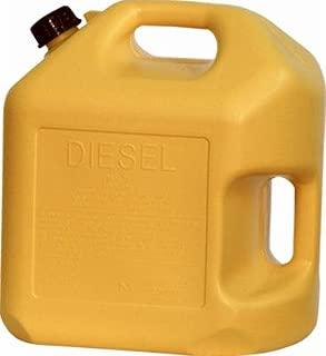 5GAL YEL Diesel Can (Pack of 4)