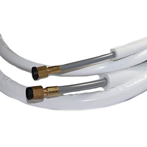 FLEX-TUBE | Leitungspaket | 1/4 | 3/8 | 3 Meter | fertig montiert
