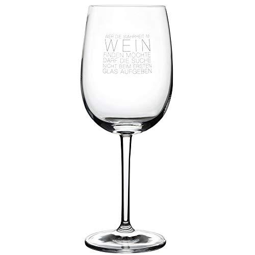 Räder Weinglas Wahrheit im Wein