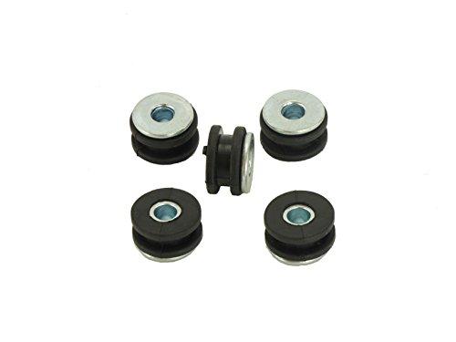 5 X Verkleidungs Gummi passend für Buell XB12S LIGHTNING XB12S 2004-2008