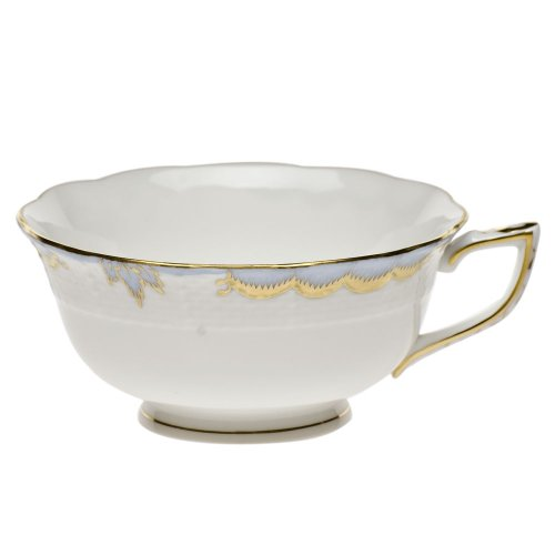 Herend Princess Victoria Light Blue Porcelain Tea Cup