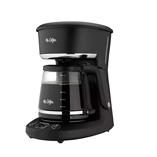 Mr. Coffee® 12-Cup Programmable Coffeemaker, Brew Now or Later