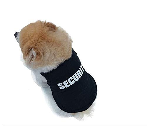 KIRALOVE Disfraz de guardaespaldas - Seguridad - Seguridad - guardián - guardaespaldas - Perro - l - Disfraces - Carnaval de Halloween - Idea de Regalo Original