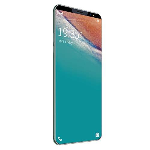 Motyy Telefono Android I13 da 5,8 Pollici con 512 MB + Smartphone Android 4G Verde, Telefono con Tre Fotocamere Posteriori, Spina Europea per Telefono Un Schermo Intero Rete 3G
