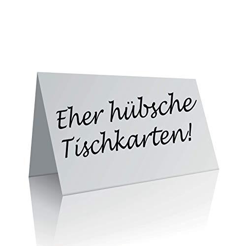 the lazy panda card company 45 Tischkarten Blanko/Platzkarten/Namensschilder/Namenskarten/Hochzeit/Tischkarte/Geburtstage