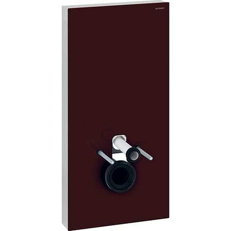 Geberit Monolith Plus Sanitärmodul für Wand-WC, 101cm, Farbe umbra