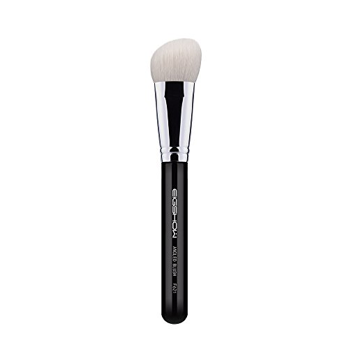 EIGSHOW Angled Blush Brush/Bronzer Brush 100% Highend Goat Bristle Brush for Contouring Blush and Bronzer Makeup Application Angled Blush Brush F621