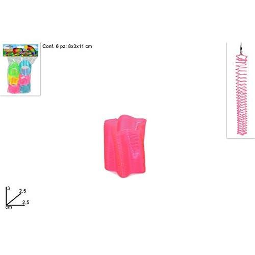 DUESSE- Mini Molle Colorate Fluo, Regalini, Colore Assortiti, MI010916