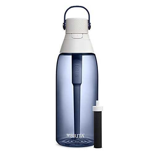 Brita Plastic Water Filter Bottle, Night Sky, 36 Ounce, 1 Cou