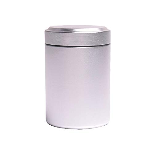 Stash Jar Airtight Smell Proof Bottle Durable Multi-Use Portable Metal Herb Jar Container. Waterproof Aluminum Screw-top…