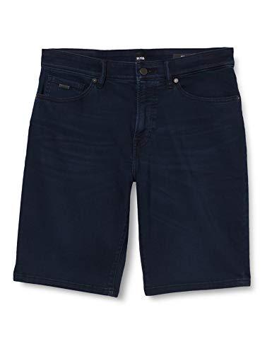 BOSS Herren Maine BC-L-P Shorts, Blau (Dark Blue 401), W32(Herstellergröße: 32)