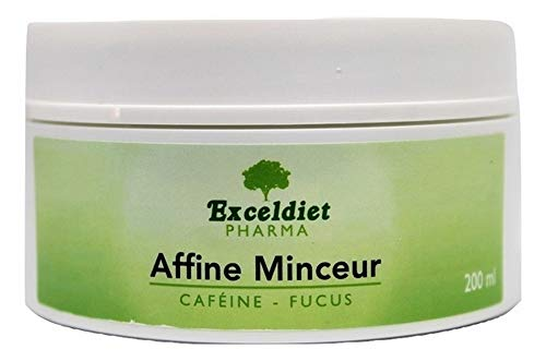 EXCELDIET PHARMA Crème Minceur Ventre et Cuisses | Brûle Graisse | Ventre Plat | Crème Anti Cellulite | Raffermissante | Affine Minceur 200 ml