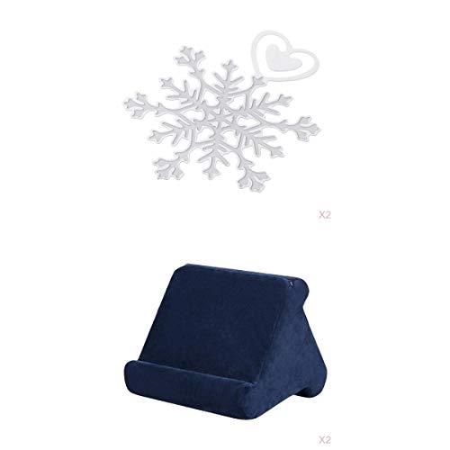 Amuzocity 2x Multi-angle Soft Sponge Pillow Holder For IPad Tablets