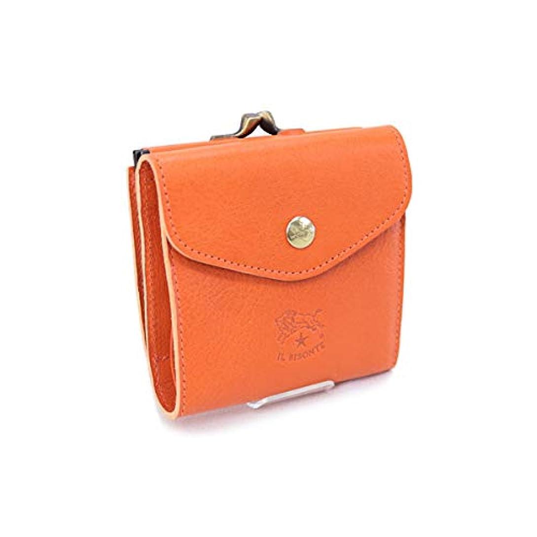 有名リーンクロール[イルビゾンテ] 財布 レディース 折財布 オレンジ (C0423 P 166 ORANGE) [並行輸入品]