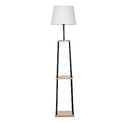 GLXLSBZ Lámpara de pie Vertica Lámparas Light Modern Shel Lámpara de pie – Skinny End Mesa & Noche – Combo Narrow Mesa auxiliar lámpara de pie