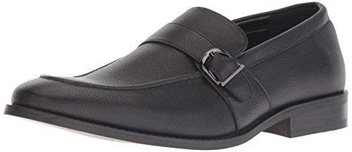 Unlisted by Kenneth Cole Men's Half Time Show Loafer, Black, 10.5 M US