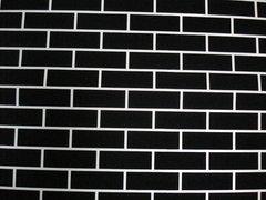 Universal Templates UT-8 Wall Brick 500 SQ. FT. Adhesive Decorative Concrete Stencils