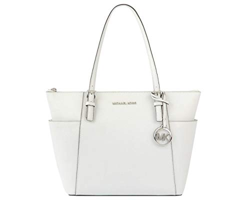 MICHAEL Michael Kors Jet Set Artikel East/West Top Zip Tote Optik Weiß One Size