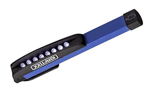 KWB LED Lampe stylo, SUPERHELL avec rotatif et clip magnétique, Lot de 4, 948650