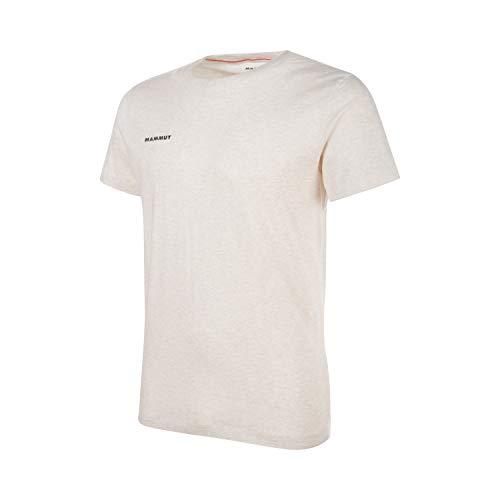 Mammut T-Shirt Sloper pour Homme, Blanc (Linen Melange PRT2), XXL