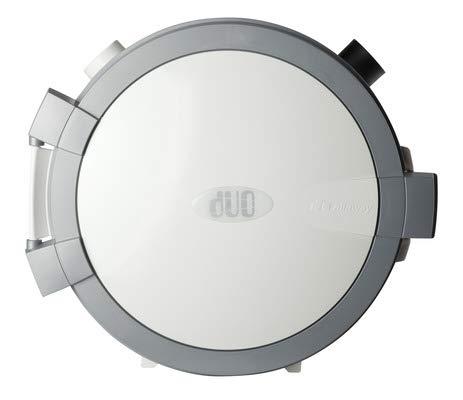 Allaway DUO weiß schwarz Staubsaug-Zentralgerät - Zentralstaubsauger Staubsauger (weiss)