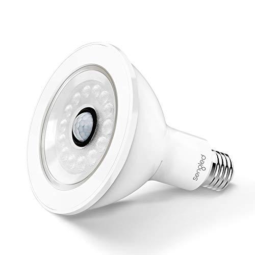 Sengled SS-PAR38NAE26W LED with Motion Sensor (Smartsense), PAR38 Smart Security Floodlight Bulb 3000K, 1050 Lumens, Waterproof for Outdoor Use, 1 Pack