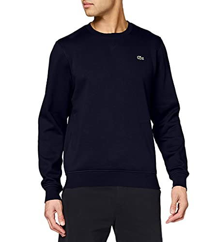 Lacoste - Sweat-Shirt - Manches Longues Homme, Bleu (Marine 166), X-Small