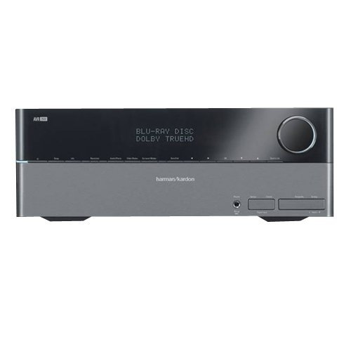 Harman/Kardon AVR2600 7 x 65W 7.1-Channel A/V Receiver (Discontinued by Manufacturer)