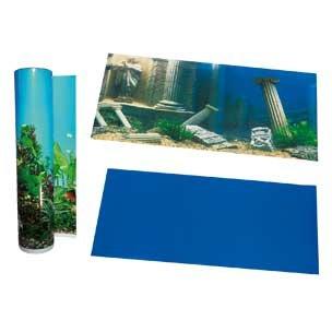 Karlie Poster de Fond d'aquarium Motif Piliers Bleu 49 cm