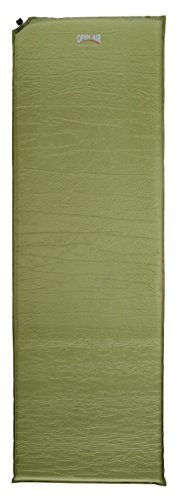 Open Air selbstaufblasbare Isomatte 5 cm Luftmatratze, 190 x 60 x 5 cm, grün, 905003