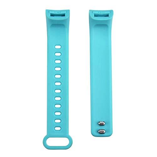 SUNKAK Envío De La Gota Portátil Dispositivos Ligeros Reemplazo Ventilar Deporte Suave Pulsera De Correa De Muñeca For Reloj Elegante Y5 (Color : Sky Blue)