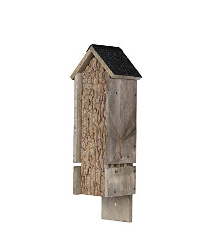 Uncle Dunkels Backyard Rocket Box Triple Chamber Bat House, Made in The USA