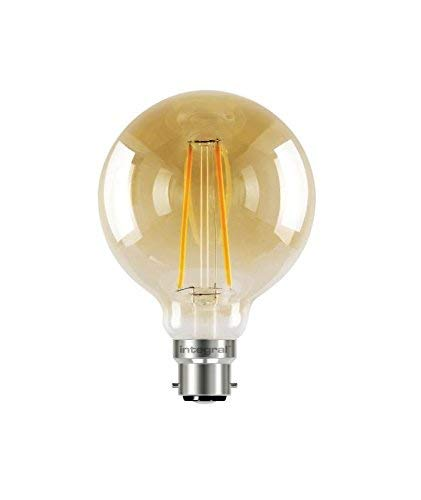 40W Integral Sunset Vintage Globe 125mm 2.5W 1800K 170lm B22 Non-Dimmable Lamp