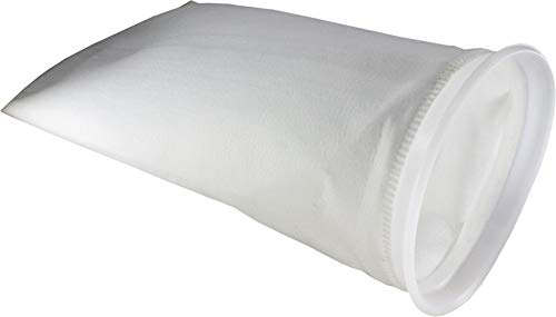 Duda Energy PESP1PW-05um 5 Micron Welded Polyester Felt Filter Bag 7' x 16' Industrial Size #1, Polyester