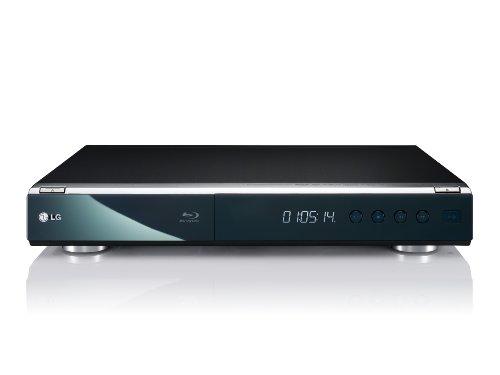 LG BD 390 Blu-Ray Player (HDMI, W-LAN, USB 2.0) schwarz