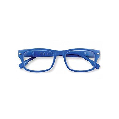 Zippo 31Z-B4-BLU Lesebrille für Damen und Herren, Unisex, Blau + 3.00 Dioptrien